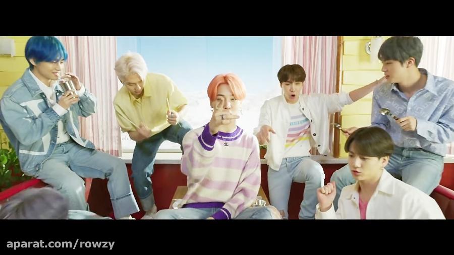 موزیک ویدیو Boy With Luv از BTS و Halsey با زیرنویس فارسی*-*