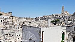 شهر زیبای Matera در جنوب ایتالیا، شهری با حال و هوای بازگشت به گذشته