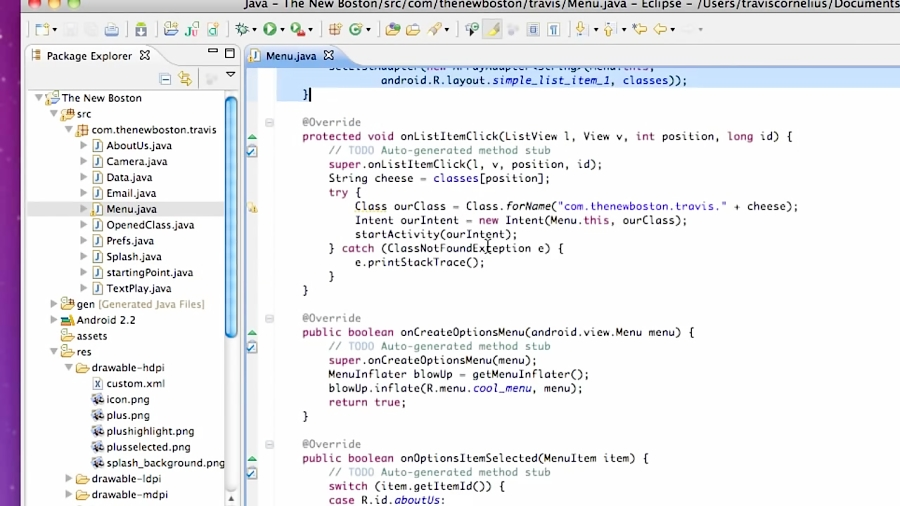 LibGDX Tutorial] Run Project as Desktop Application in Android Studio