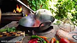 آشپزی در طبیعت_ دستور پ...