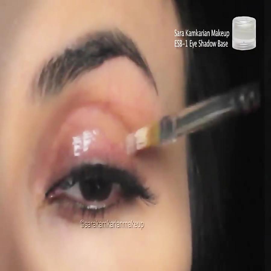 گریم و میکاپ,آموزش میکاپ,جدیدترین میکاپ عروس, آموزش آرایش چشم ایرانی