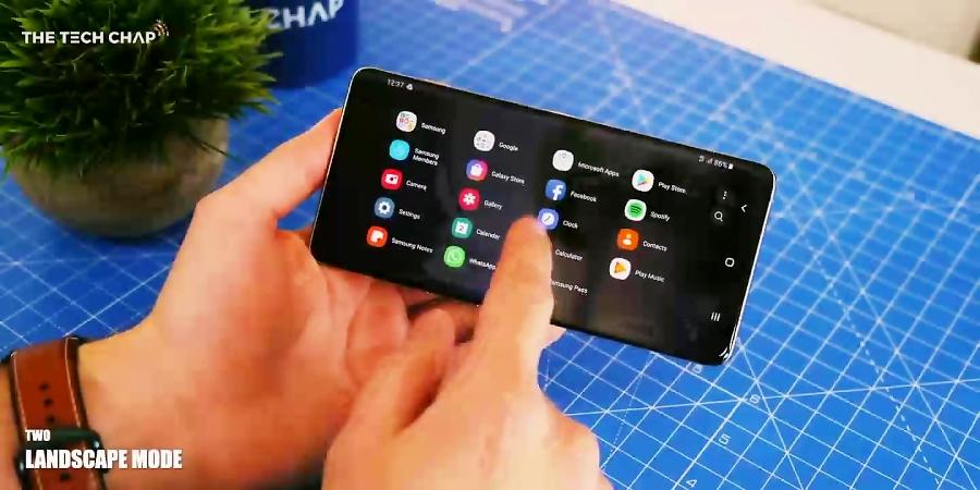 بررسی Samsung Galaxy s10