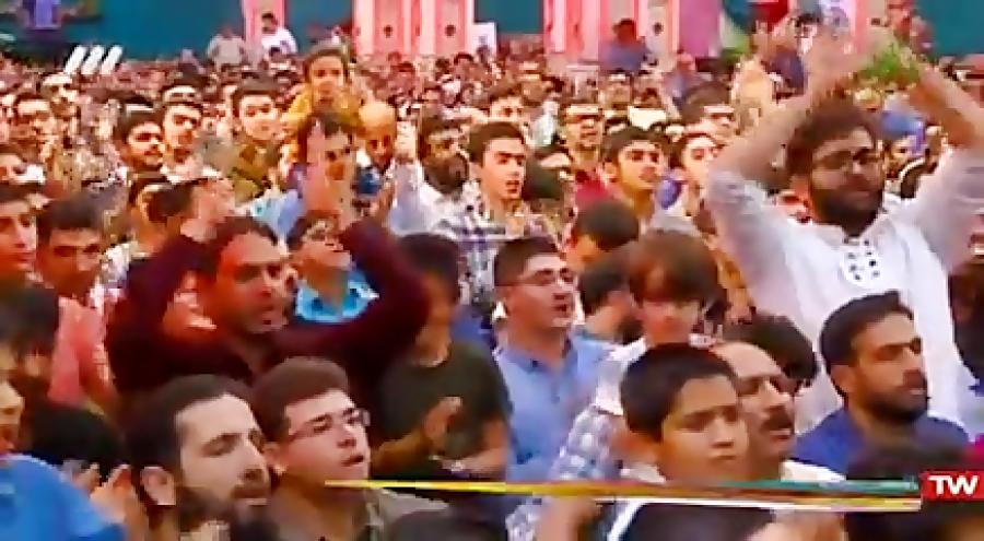 مولودی خوانی شبکه 3 - حاج محمود کریمی - ۲۸ فروردین ۱۳۹۸