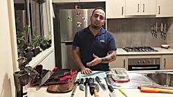 آموزش تیز كردن چاقو و ن...