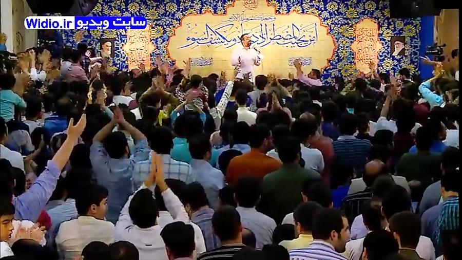 مولودی خوانی شاد جشن میلاد ولادت امام زمان (عج) حاج محمود کریمی