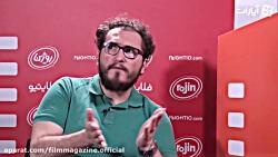گفتگو با واسیلیس اکونومو، برنامه ریز جشنواره فیلم شب های سیاه تالین
