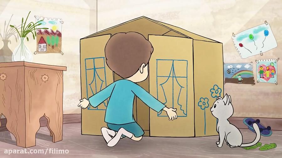 آنونس انیمیشن کوتاه «جعبه»