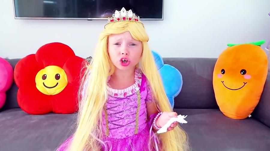 آلیس شاهزاده خانم میشه و به جشن تولد میره