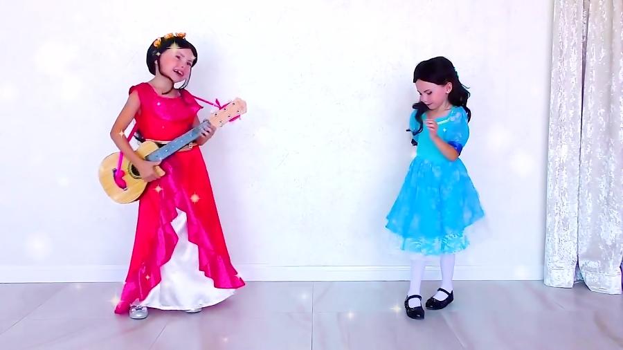 برنامه کودک: آلیس شاهزاده النا و شاهزاده الیزابت میشه