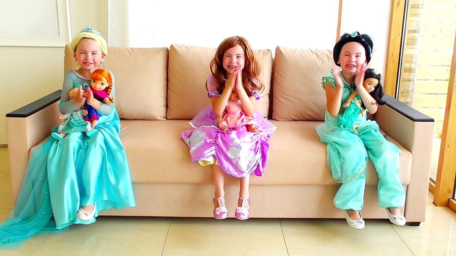 برنامه کودک: آلیس به شکل عروسک های آلیسا و سوفیا درمیاد