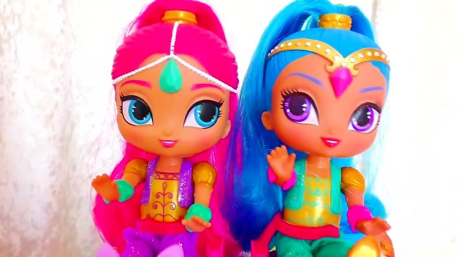 برنامه کودک:آلیس به شکل عروسک های شیمر و شاین درمیاد