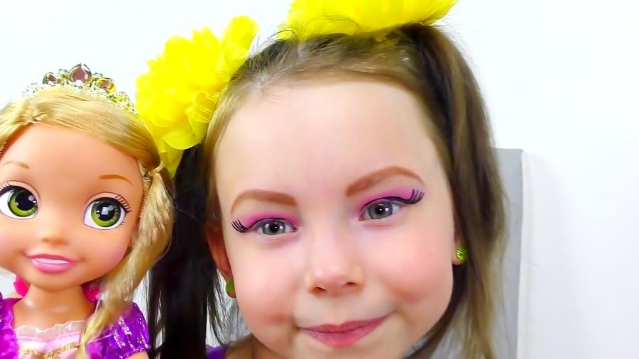 برنامه کودک: آلیس به شکل شاهزاده راپونزل درمیاد