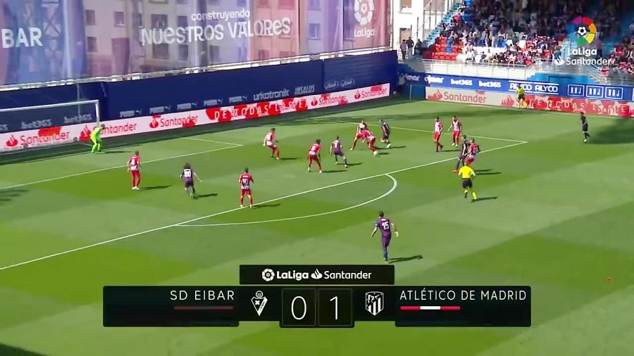 اتلتیکو مادرید 1-0 ایبار هفته 33 لالیگا 2018/2019