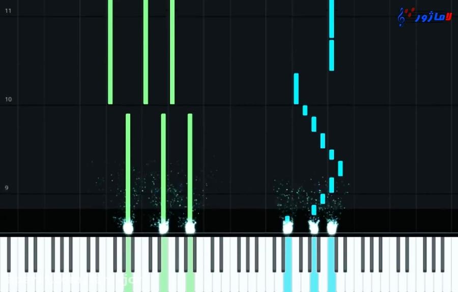 نت پیانو دسپاسیتو + آموزش آهنگ دسپاسیتو با پیانو