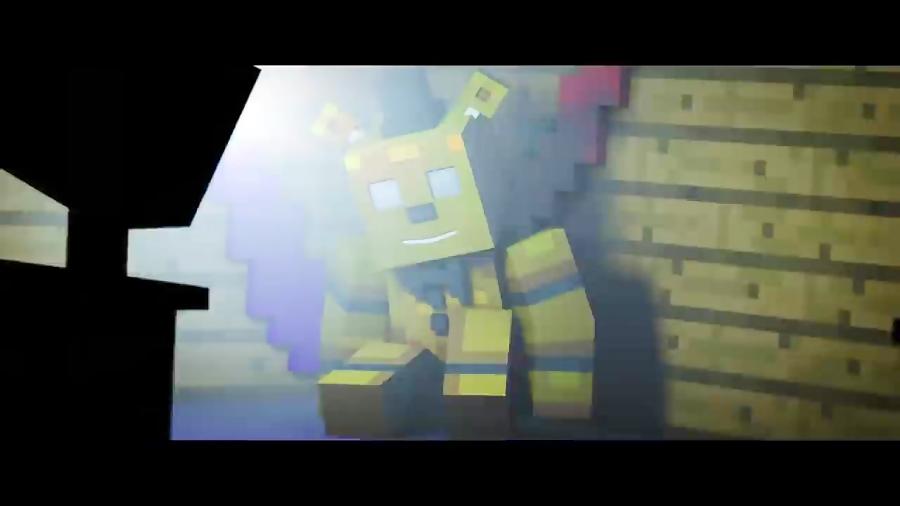 FNAF 4 Minecraft Music Video   Afton - Part 1