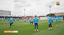 تمرین امروز بارسلونا 98 02 01