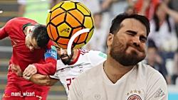 فوتبال بازی کردن مانی