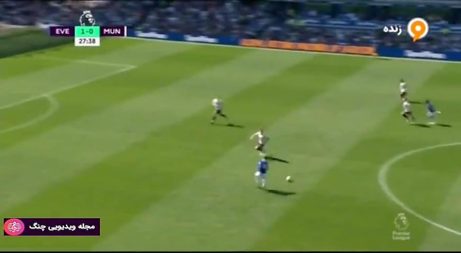 گلها و لحظات حساس لیگ اروپا 2019-2018 - گل دوم اورتون به منچستر (گیلفی سیگورسون)