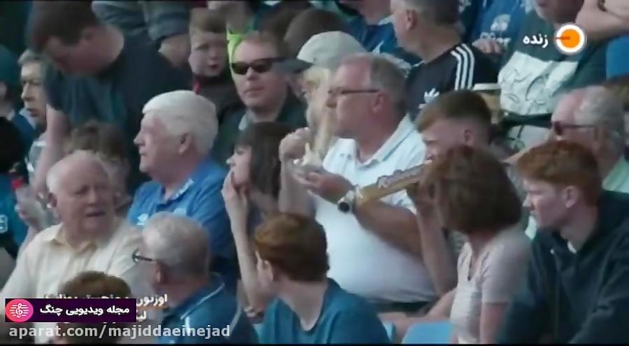 گلها و لحظات حساس لیگ اروپا 2019-2018 - گل اول اورتون به منچستر (ریچارلیسون)