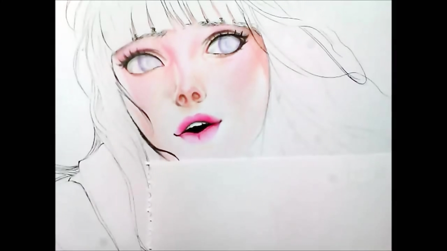 How To Color Skin Using Colored Pencils Anime Drawing Tutorial دیدئو Dideo