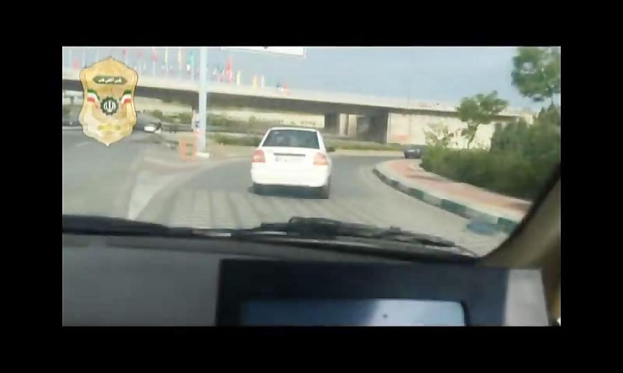 تعقیب و گریز 20 دقیقه ای پلیس با خودروی مسروقه
