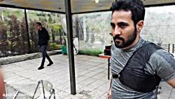 کافه خبر ازتمرین حامد ع...