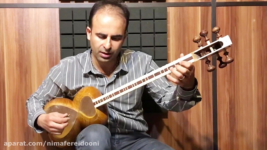 درس ۷ ریحان آهنگ محلی آذربایجان کتاب تار و ترانه نیما فریدونی تار