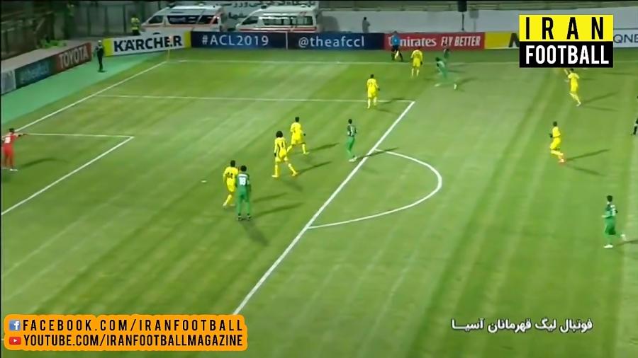 خلاصه بازی ذوب آهن ایران و الوصل امارات - لیگ قهرمانان آسیا