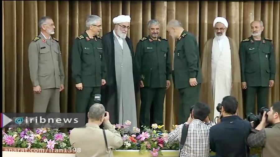 برگزاری مراسم معارفه فرمانده جدید سپاه