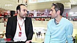 گفت و گو با مجتبی جباری در حاشیه جشنواره جهانی فجر