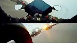 تعقیب و گریز پلیس به دنبال موتورسواران پرسرعت