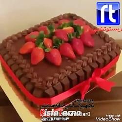 طرز درست کردن تزیین کیک