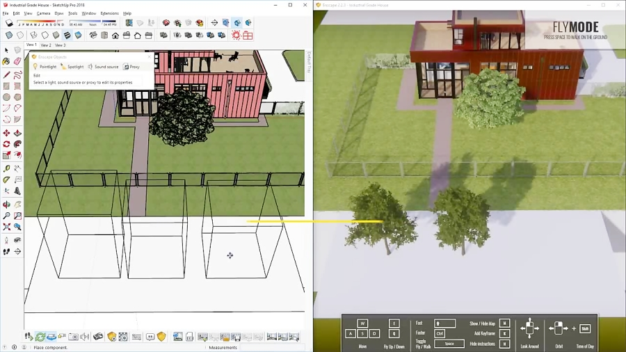 REALISTIC Wood Materials Tips and Tricks   Enscape for Sketchup