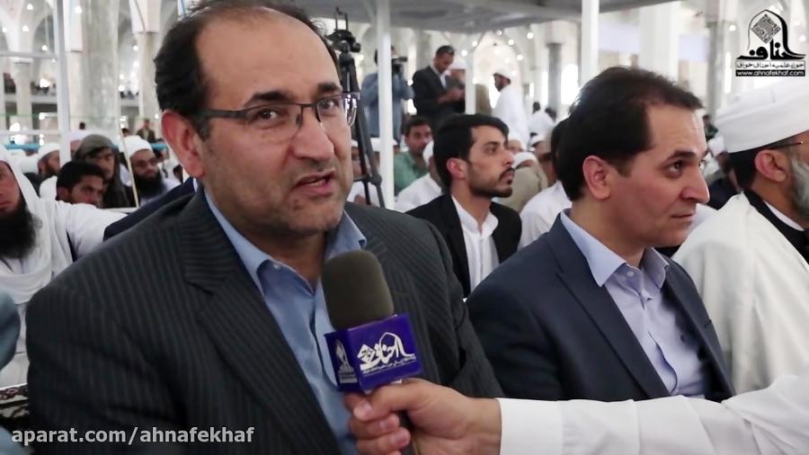 دکتر رحیمی: حوزه علمیه احناف خواف یکی از پایه های ترویج فرهنگ اسلامی است