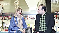 گفت و گو با شبنم قلی خانی در حاشیه سی و هفتمین جشنواره جهانی فجر