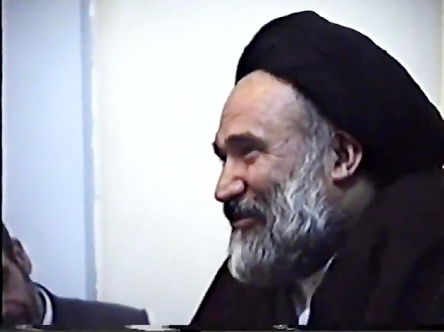 مظلومیت امام زمان و استاد آیت الله سید حسن ابطحی