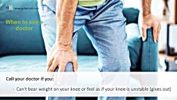 مراجعه پزشکی در زانو درد - When to see a doctor in Knee Pain