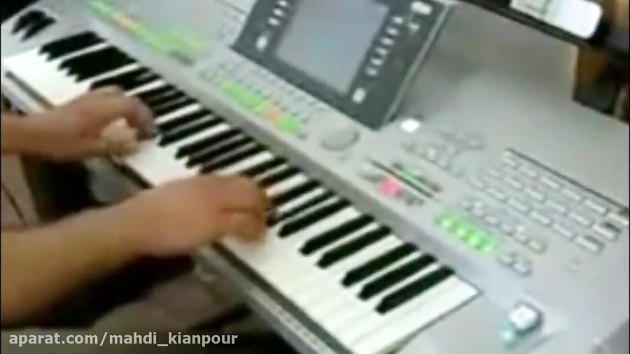 پیانو آهنگ بهار دلنشین استاد بنان (Piano Bahare Delneshin) آموزش پیانو- تایروس
