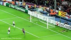۲۴ گل مسی در مقابل تیم های انگلیسی در لیگ قهرمانان اروپا