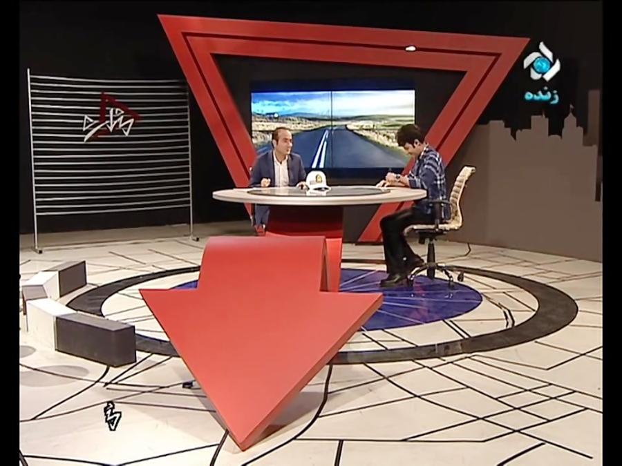 حسن ریوندی سوتی و کل کل خنده دار در آنتن زنده تلویزیون