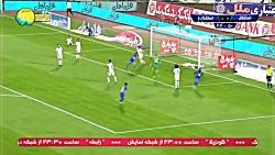 خلاصه بازی استقلال 4 - 2 استقلال خوزستان