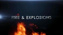 فوتیج دود انفجار آتش ۲K ...