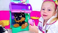 استیسی و سگ های اسباب بازی