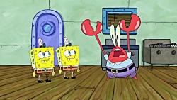 کارتون باب اسفنج - عصبانی شدن خرچنگ از دست باب ❤