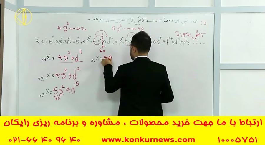 تدریس شیمی  کنکور آسان است  مهندس عارف ربیعیان  انتشارات گیلنا  قسمت 40