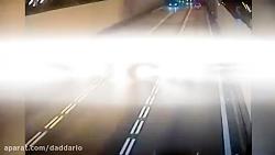 مرگ یک راننده متخلف بر اثر تصادف شاخ به شاخ در تونل