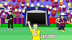 BARCELONA 3-0 LIVERPOOL  ___ انیمیشن بازی لیورپول 0 - 3 بارسا - از 442oons