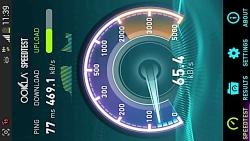 تست سرعت اینترنت 3G ایرانسل(سرعت باورنکردنی)تبریز