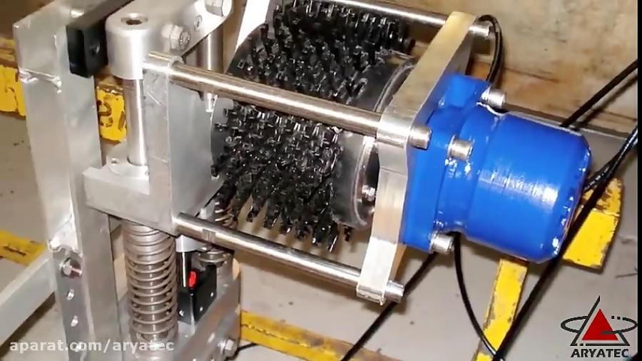 فلنج فیسر لوله بر پایپ کاترپخ زن لوله ورق تجهیزونگهداری خطوط لوله ساخت وش آمریکا