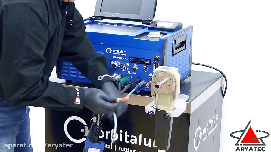 جوش وبرش نقطه ای پرتابل لوله برفلنج فیسرپخ زن لوله ورق مدل165CAاوربیتالوم آمریکا